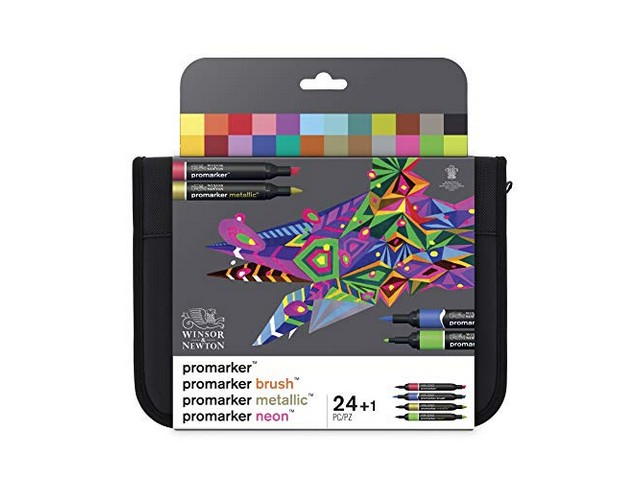 Trousse Promarker Mixed 24 marqueurs